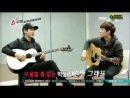 |VIDEO| 140123 Chanyeol & Lay playing guitars @ EXO Showtime